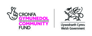 The National Lottery Community Fund and Welsh Government Logos