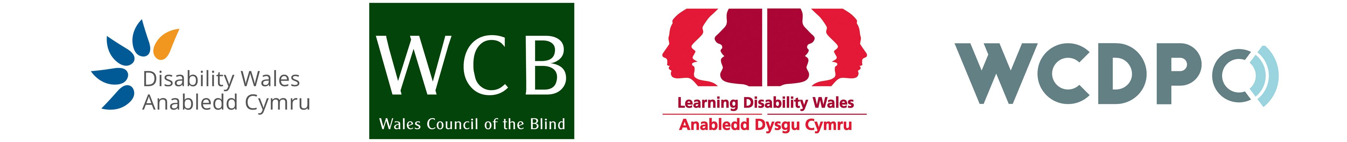 welsh national disability organisation logos