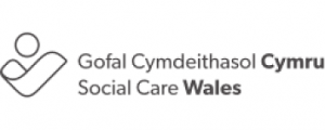 Social care wales logo